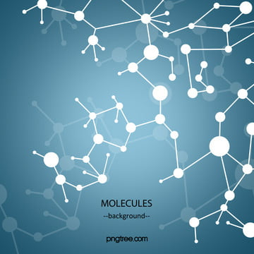 flat gradient colored abstract microworld molecular background map , Molecule, Dot, Flat Background image