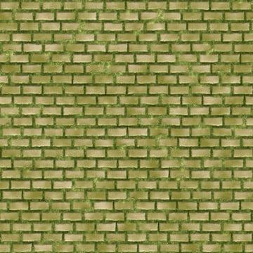 푸른 이끼 brickwall 배경 , 배경, 벽돌, 벽돌 벽 배경 이미지