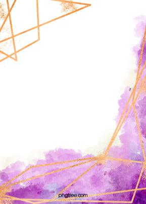 màu nước vẽ các đường viền màu nền vàng , Ngất Xỉu Nhuộm, Màu Nước, Vẽ Ảnh nền