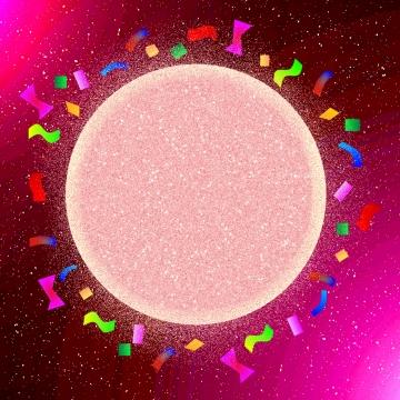핑크 빛 당 배경 , 배경, 축하, 컨페티 배경 이미지