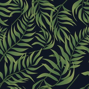 阿羅哈熱帶葉無縫 , 壁紙, 熱帶, 背景 背景圖片