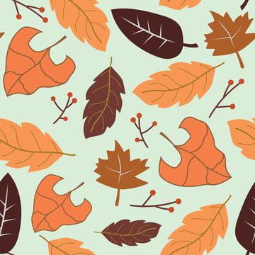 秋葉無縫 , 插圖, 木, 秋天 背景圖片
