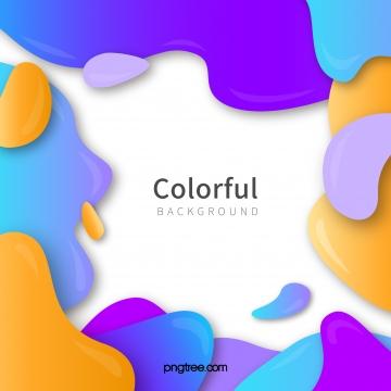 彩色波浪狀曲線背景 , 多彩, 彩色波浪狀曲線背景, 抽象 背景圖片