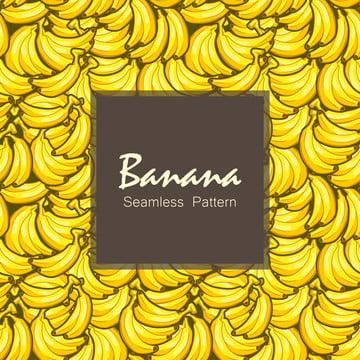 バナナ黄色の背景パターンシームレス , アロハ, 背景, バナナ 背景画像