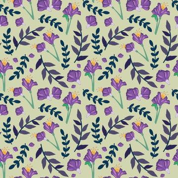 花紫色無縫模式 , 插圖, 裝飾品, 曲線 背景圖片