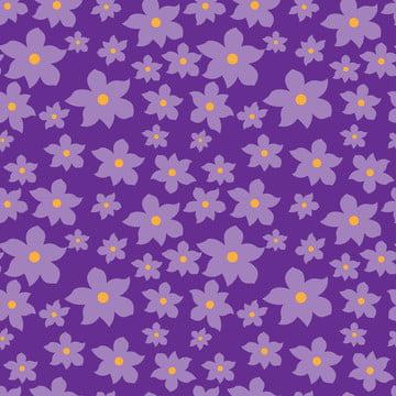 花紫色甜無縫模式 , 小, 版畫, 花 背景圖片