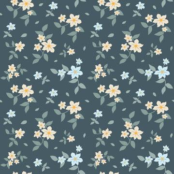 花卉簡單無縫模式 , 植物群, 背景, 美麗 背景圖片