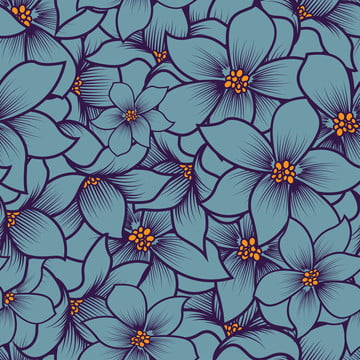 flower vector pattern background , Decoration, Flower, Drawing Background image