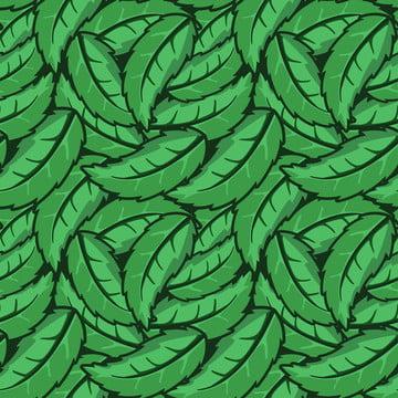葉綠色像羽毛無縫模式 , 圖形, 綠色, 華麗 背景圖片