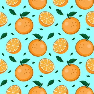 orange fruit seamless pattern , Flower, Ingredient, Whole Background image