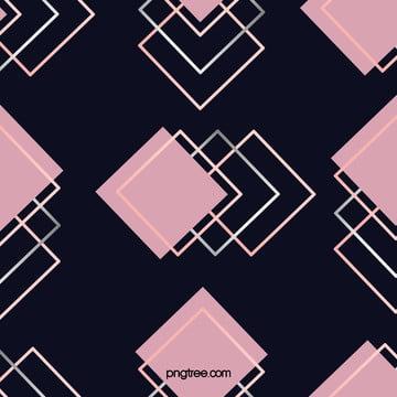 粉色玫瑰金正方形背景 , 幾何, 四邊形, 多邊形 背景圖片