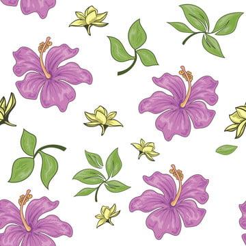 紫葉無縫模式 , 花香, 無縫, 花 背景圖片