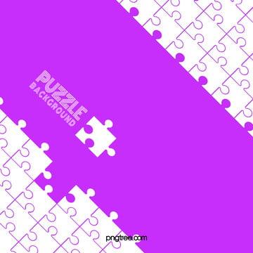 violet de puzzle incomplet de géométrie des couleurs de fond , Géométrie, Puzzle, Puzzle Image d'arrière-plan