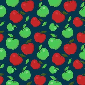 लाल  हरे सेब निर्बाध , कृषि, एप्पल, शरद ऋतु पृष्ठभूमि छवि