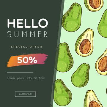 venta de verano social media post feed poster , Resumen, Publicidad, Arte Imagen de fondo