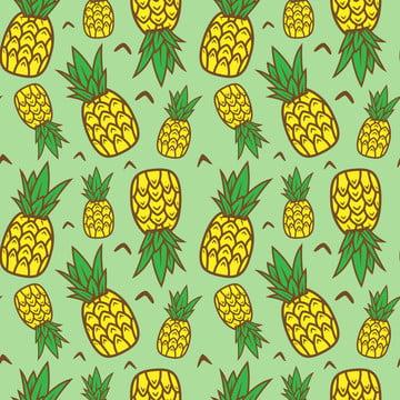 manis buah nanas lancar corak , Latar Belakang, Latar Belakang, Bio imej latar belakang