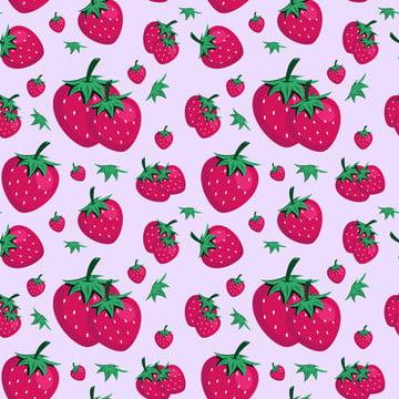 manis buah strawberi lancar corak , Seni, Latar Belakang, Latar Belakang imej latar belakang