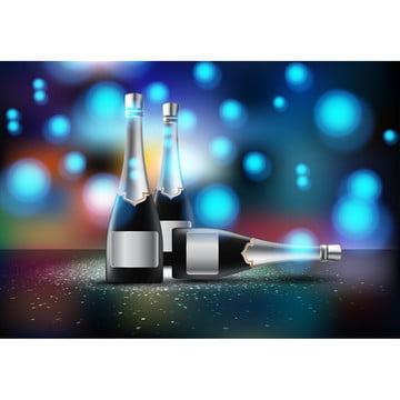 वेक्टर चित्रण की wineglass के साथ शराब की बोतलें चाम , शराब, पृष्ठभूमि, बार पृष्ठभूमि छवि