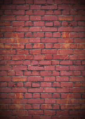 background design of red texture brick wall mapping , Pattern, Metope, Tiling Background image