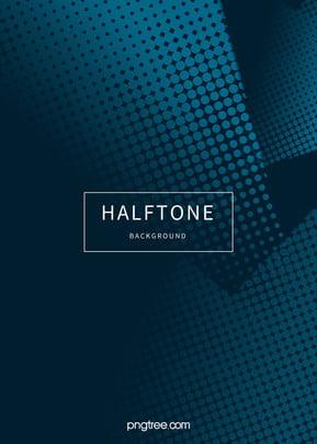 青の不規則なハーフトーンのグラデーションの背景 , 幾何学, ハーフトーン, 円形 背景画像