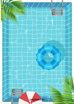 clean summer water carnival poster background , Summer, Summertime, Leaf Background image