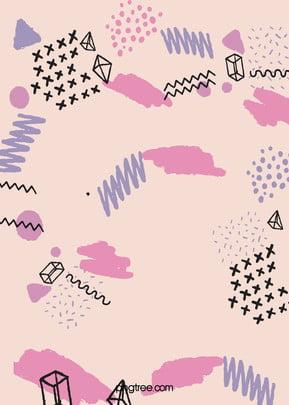 Creative Morandi Graffiti Background , Geometric, Creative, Waveline Background image