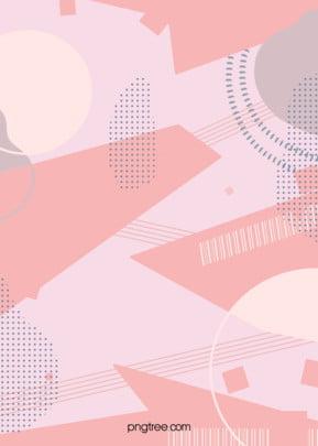 pink morandi painting graffiti block background , Plane Style, Doodling, Punctate Background image