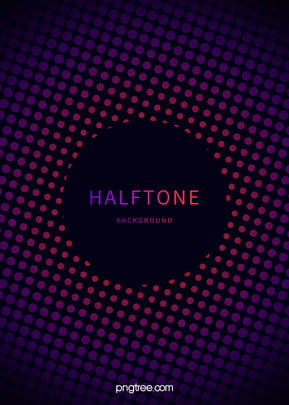 Purple Gradient Halftone Style Background, Halftone, Circular, Ring, Background image