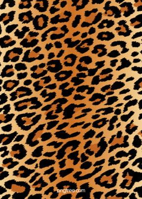 복고 표범 무늬 배경 , 도안, 어두운 황색, 무늬 배경 이미지