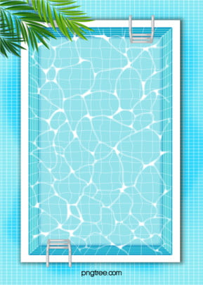 swimming pool cool summer watermark blue background , Summer, Summertime, Leaf Background image