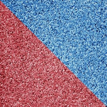 藍色和粉紅色的閃光分裂形狀 , 閃光, 背景, 模式 背景圖片