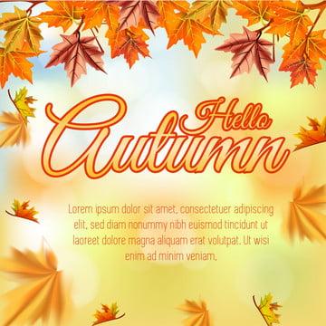 落下秋 こんにちは秋の背景 , 抄録, アート, 秋 背景画像
