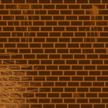 벽돌 벽 갈색 배경 , 배경, 벽돌, 벽돌 배경 배경 이미지