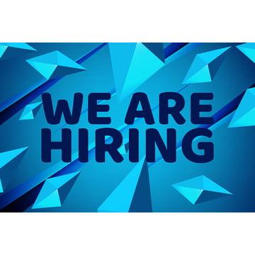 हम भर्ती कर रहे हैं  पोस्टर या बैनर डिजाइन नौकरी रिक्ति विज्ञापन , विज्ञापन, की घोषणा, घोषणा पृष्ठभूमि छवि