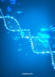 background of blue gradient dna biological gene chain , Dna, Gene, Gradient Background image
