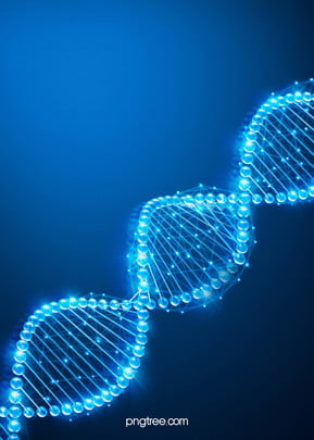 background of blue gradient luminescence biological gene dna chain , Dna, Luminescence, Gene Background image