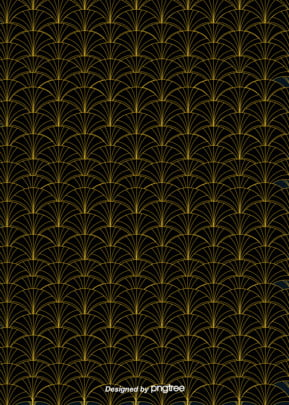 classical golden line fish scale black background , Classical Style, Golden Line, Golden Scales Background image