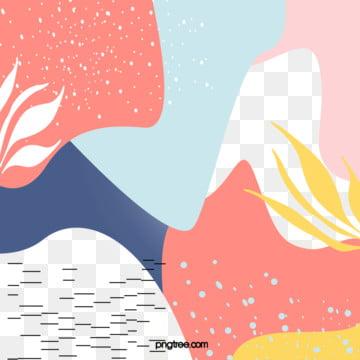 珊瑚紅孟菲斯抽象背景 , 孟菲斯, 抽象, 波點 背景圖片