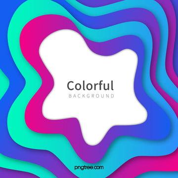 グラデーションカラー波曲線の背景 , カラー, 波状曲線の背景, 活動 背景画像