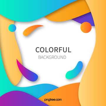 漸變彩色波浪狀曲線背景 , 彩色, 抽象, 時尚 背景圖片