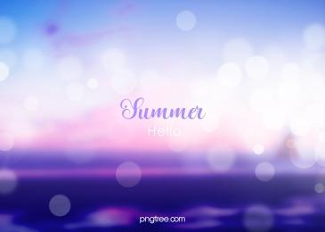 गर्मियों में बैंगनी धुंधला सूर्यास्त चमक पृष्ठभूमि, स्पॉट, गर्मियों में, फजी पृष्ठभूमि छवि
