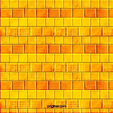 नारंगी रंग तीन आयामी शैली ईंट की दीवार पृष्ठभूमि , ज्यामिति, टक्कर, ढेर पृष्ठभूमि छवि