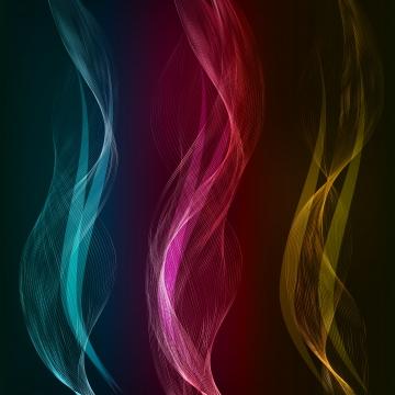 ベクトル抽象的な色の波 , 抄録, 抽象化, 背景 背景画像