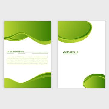 उड़ता या वेक्टर सार हरे रंग लहराती पृष्ठभूमि डिजाइन विवरणिका , A4, सार, कला पृष्ठभूमि छवि