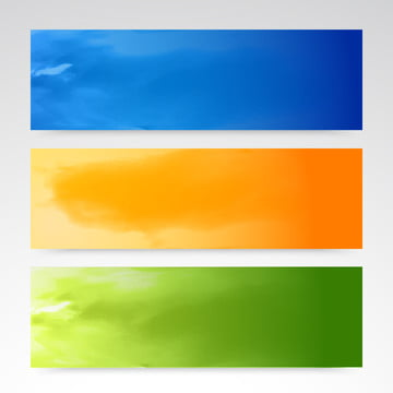 カラーブルーイエロー ヘッダ 水平バナーのベクトル集合 , 抄録, アート, 背景 背景画像