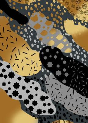 काले सोने ब्लॉक सार बनावट पृष्ठभूमि, स्पॉट, ब्रश भावना, बनावट पृष्ठभूमि छवि