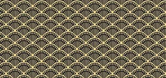 काले और सोने क्लासिक मछली पैमाने पर टाइल पृष्ठभूमि, शास्त्रीय, टाइल, सरल पृष्ठभूमि छवि
