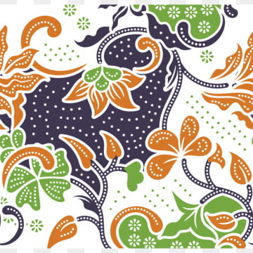 hand drawn decorative batik pattern with abstract flowers , Pattern, Background, Batik Background image