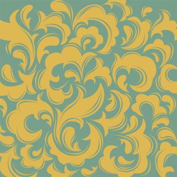 विंटेज फूल पैटर्न पृष्ठभूमि मुद्रण के लिए दीवार सजावट , सार, प्राचीन, कला पृष्ठभूमि छवि