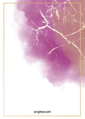 Purple Watercolor Blooming Gold Foil Background , Halo Dyeing, Watercolor, Violet Background image